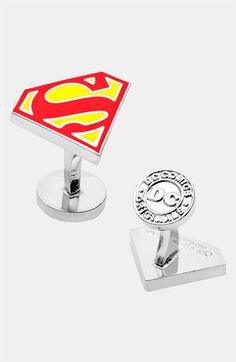 Cufflinks, Inc. 'Superman Shield' Cuff Links available at #Nordstrom