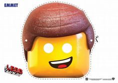 Printable Lego Movie character masks! I think these will be used for photo booth props