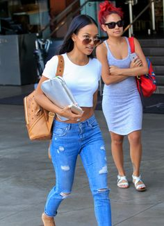 caac6a54680 Karrueche Tran seen out in Beverly Hills on April 30