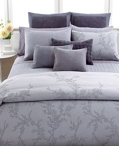 Vera Wang Bedding, Trailing Vines Collection - Bedding Collections - Bed & Bath - Macy's