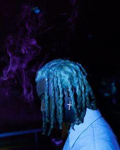Rapper Wallpaper Iphone, Rap Wallpaper, Trippie Redd, Blue Aesthetic Dark, Collage Background, Angel Aesthetic, Hip Hop Art, Brown Art, Lil Uzi Vert