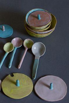 The Fruit Shop. Ceramics by Hsian Jung. http://cargocollective.com/the_fruit_shop/