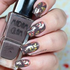 Hi loves!!! fallen_leafmaple_leaffallen_leafmaple_leaf . a short while to start the fall, and fancy do fall nails!mushroom Maybe is my favorite season! For make this look I use following . small_orange_diamondChocolate Dream @madam_glam two_hearts Use my code BKND31 for get 30% off in your purchase. small_orange_diamondStamping plate 03 collection 3 @uberchicbeauty two_hearts . small_orange_diamondGold is God @essiepolish sparkles . small_orange_diamondTop Coat @glistenandglow1 two_hearts…