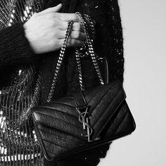 Wir lieben die neue Monogram-Tasche von Saint Laurent