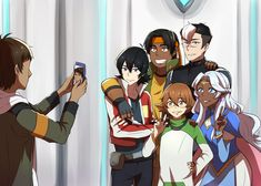family photos ft. lance excluding coran bc i can't do him any justice