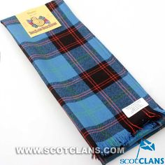 Clan Home Ancient Tartan Scarf