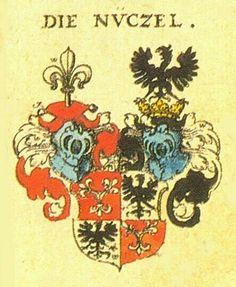 Familienwappen der Nützel von Sündersbühl  Nützel von Sündersbühl Family Coat of Arms