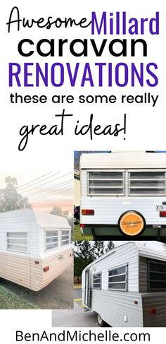 These beautiful vintage caravans have been saved from rotting away and being forgotten forever! Take a walk down memory lane (kindof) and see how these old beauties have been revived, restored and updated. Vintage caravans | Vintage caravan remodel | Renovated vintage van | Vintage travel trailer renovation Best Caravan, Diy Caravan, Retro Caravan, Vintage Caravan Interiors, Vintage Caravans, Vintage Travel Trailers, Caravan Makeover, Caravan Renovation, Disney Travel Agents