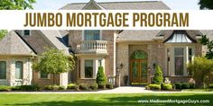 """There is a solid reason why the word """"jumbo"""" is used to identify a certain type of mortgage loan. Real Estate Articles, Real Estate Information, Real Estate Tips, Mortgage Tips, Mortgage Calculator, Jumbo Loans, Real Estate Business, Estate Homes, Home Buying"""