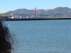 Golden Gate Bridge from Fisherman's Wharf #sanfrancisco