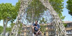 Carcassonne : le Land art a pris ses quartiers