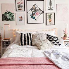 O quarto LINDOOOO da @giovannaferrarezi quero pra mim.