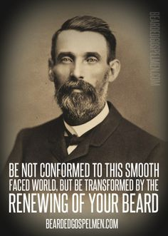 Awesome beard quote