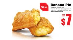 McDonald's Hong Kong - Banana Pie