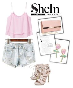 """Shein Contest"" by irma-06 ❤ liked on Polyvore featuring Carvela, MANGO, New Look and Big Bud Press"