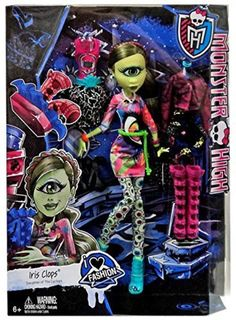 "Monster High pop ""Iris Clops I Love Fashion"""