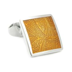 Check out the deal on Gold Paisley Cufflinks at Cufflinks Depot