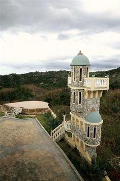 Castle of Palatine Hills, Rincon, Puerto Rico