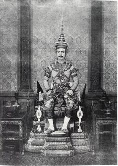 Thailand's King Chulalongkorn (Rama V) 1868-1910. Instituting major reforms in Thailand's government and society during his long reign, King Chulalongkorn brought his nation into the twentieth century while preserving Thai independence in the face of Western colonial pressure. S)