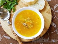 Pea soup with chicken is ready! Pea Soup, Cheeseburger Chowder, Stew, Cantaloupe, Chicken, Fruit, Cooking, Food, Soups