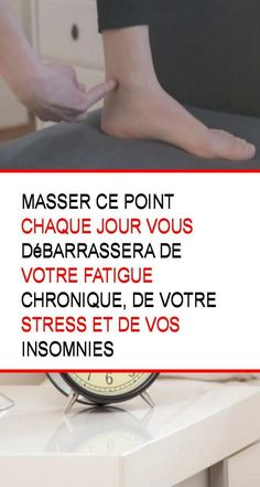 Masser ce point chaque jour vous débarrassera de votre fatigue chronique, de votre stress et de vos insomnies Qigong, Acupuncture, Stress, Yoga Fitness, Zen, Relax, Medical, Exercise, Health