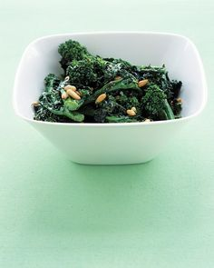SAUTEED BROCCOLI RABE Nutritional info not provided. http://www.marthastewart.com/338529/sauteed-broccoli-rabe?czone=food/dinner-tonight-center/dinner-tonight-side-dishes=276948=274928=260938