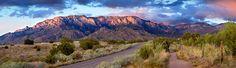 Road to Elena Gallegos. Photograph by Bill Tondreau.