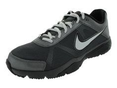 Nike Mens NIKE DUAL FUSION TR III TRAINING SHOES 8 MTLC DARK GREYWHITEBLACK * Check this awesome product by going to the link at the image.