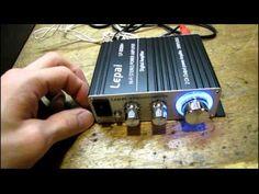 Lepai LP-2020A+ Mini Tripath Stereo Amp, Part 1 - YouTube