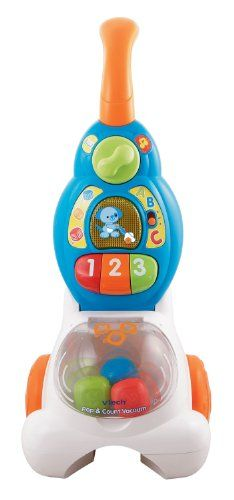 VTech Pop and Count Vacuum Push Toy - List price: $24.99 Price: $21.96 + Free Shipping