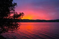 Schroon Lake sunset