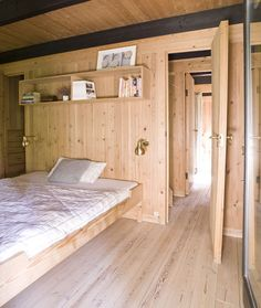 Erik Korshagen Bunk Beds, Divider, Cabin, Room, Furniture, Home Decor, Island, Spaces, Bedroom