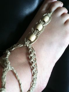 #barefootsandals #beachy #beaded #beachwear #hemp #handmade #jewelry #macrame #anklet #love #summer2013 #shophandmade #etsy #beach #woven #uniqcreations  Www.uniqcreations.etsy.com