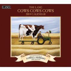 Cows Cows Cows 2014 Wall Calendar , 1001698 | Lang