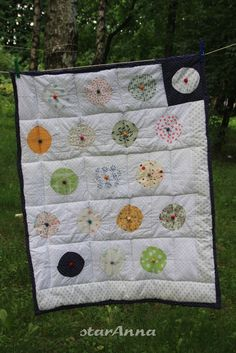 Polka Dot Quilts, Polka Dots, Blanket, Scrappy Quilts, Blankets, Shag Rug, Comforters, Dots, Quilt