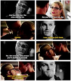 Arrow - Oliver, Felicity and Diggle #3.1 #Season3 #Olicity ♥