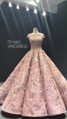 Pink vintage lace sweet 15 dress, cuture debut dresses Source by viniodress dresses Debut Gowns, Debut Dresses, Ball Gowns Prom, Ball Dresses, Prom Dresses, Prom Gowns With Sleeves, Quinceanera Dresses, Quinceanera Planning, Beautiful Dresses