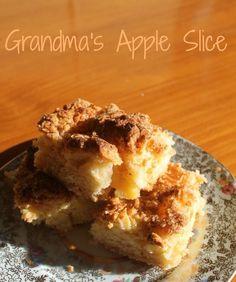 Grandma's Apple Slice