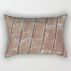 Rusted Metal Throw Pillow by Inspired Arts #manlygift #masculine #giftsformen #mangifts #hubby #spouse #boyfriend #xmasgiftsformen #boss #brother #father #dad #uncle #christmasgiftsformen #outdoors #outdoorsy #hunting #outdoorenthusiast #pillow #rusty #old #farmhouse