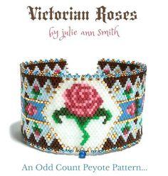 VICTORIAN ROSES Bracelet Pattern