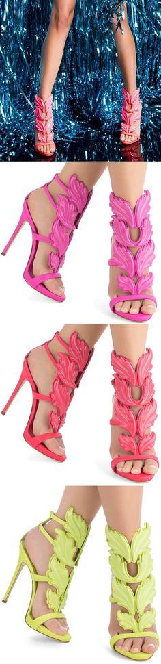 'Cruel' Wing High Heel Sandals