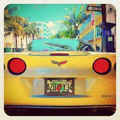 Chevrolet Corvette & enjoy the sunshine! - @balazsroth- #webstagram