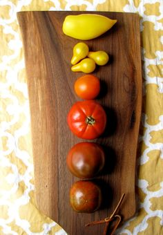 Ombre Tomatoes from Etsy shop SilverAndSalt.