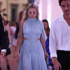 Kate Hudson arriving at the Legends and Fairy Tales fashion show.