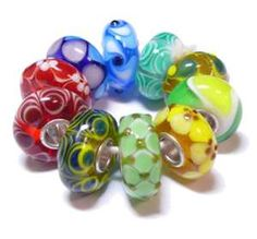Trollbeads ooaks look great for Easter!  #loveeaster #lovetrollbeads