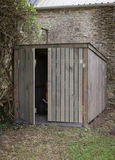DIY Outdoor Lawnmower Storage   Google Search