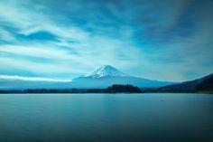[Mt,Fuji from Lake Kawaguchiko] - 山梨・河口湖 - Yamanashi, Japan Hd Photos, Great Photos, Places Around The World, Around The Worlds, Mont Fuji, Japan Photo, Travel Goals, Amazing Nature, Nice View