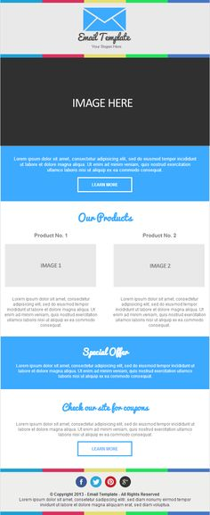 Creating a responsive email template
