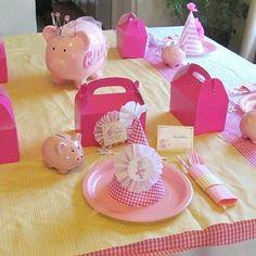 Piggy Bank Party Favors