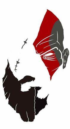 Kratos God Of War, Jeux Nintendo 3ds, Digital Foto, Gaming Wallpapers, Art Graphique, Video Game Art, Crash Bandicoot, Skull Art, Geeks